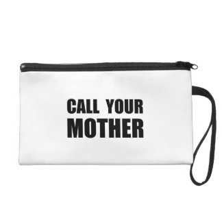 Call Your Mother Wristlet Clutches