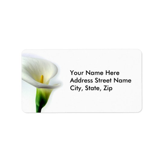 Calla Address Label