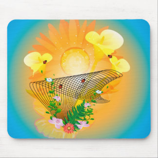 Calla and other flowers mouse pads