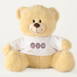 Calla Bouquet Teddy Bear