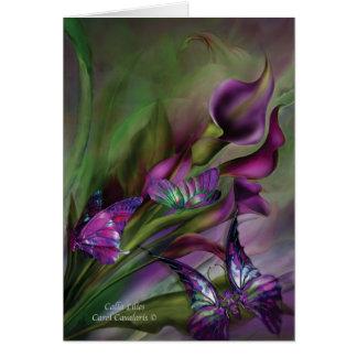Calla Lilies ArtCard Card
