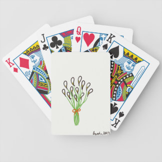 Calla Lilies Bicycle Playing Cards
