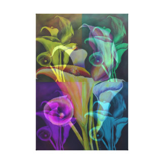 Calla Lillies Canvas Print