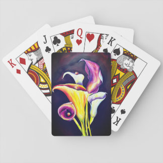 Calla Lillies Playing Cards