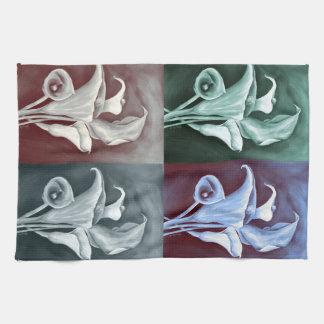 Calla Lillies Tea Towel