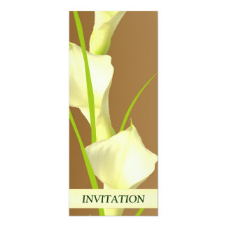 Calla Lillies Wedding Invitation