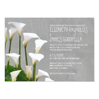 Calla Lillies Wedding Invitations