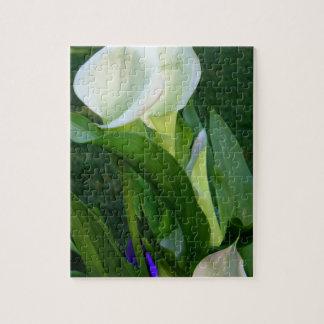 Calla Lillies (white) Puzzle
