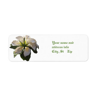 Calla Lilly Bouquet~Label Return Address Label
