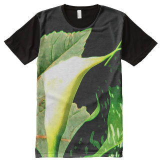 Calla Lily All-Over Print T-Shirt