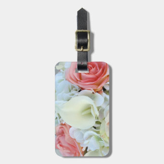 Calla Lily and Roses Luggage Tag