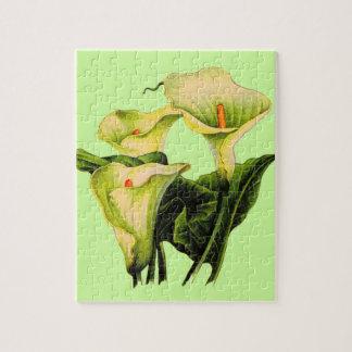 calla lily calla lilies jigsaw puzzle
