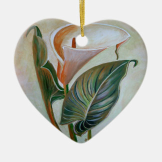 Calla Lily Ceramic Ornament