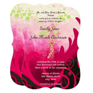 Calla Lily Flower Wedding Invitation