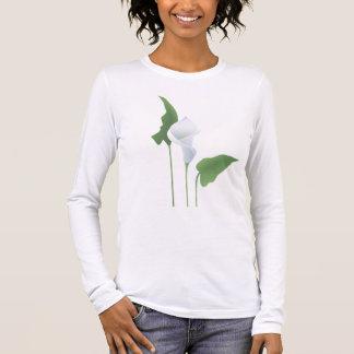 Calla Lily Ladies Long Sleeve T-shirt