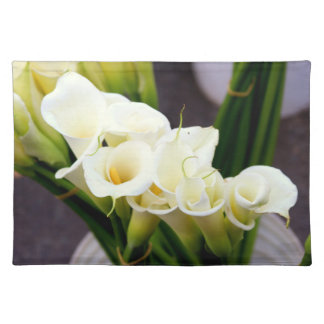 calla lily placemat