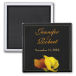 Calla Lily Save the Date Magnet