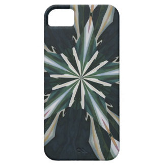 Calla Lily Star Kaleidoscope iPhone 5 Case