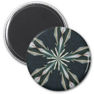 Calla Lily Star Kaleidoscope Magnet