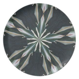 Calla Lily Star Kaleidoscope Plate