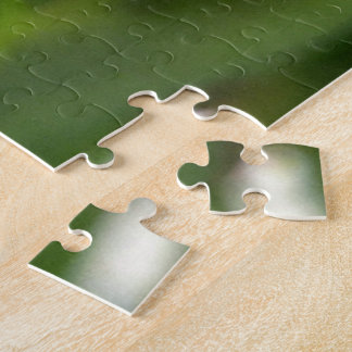 Calla Lily Tear Drop Jigsaw Puzzle