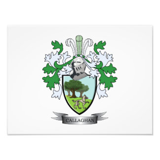 Callaghan Coat of Arms Photo Print