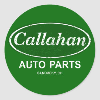 Callahan Auto Parts $7.95 Stickers (20 pack)