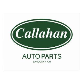 Callahan Auto Parts Postcard