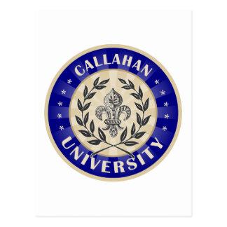 Callahan University Navy Postcard