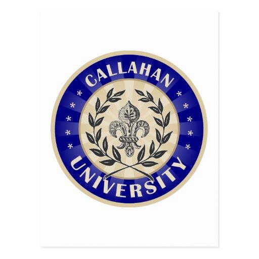 Callahan University Navy Post Cards