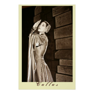 Callas in Otello Poster