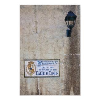 Calle Conde Photo Print