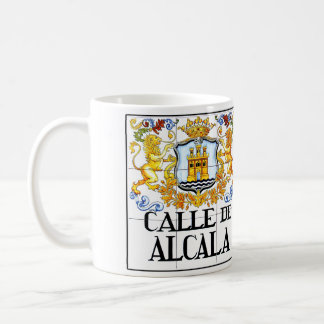 Calle de Alcalá, Madrid Street Sign Coffee Mug