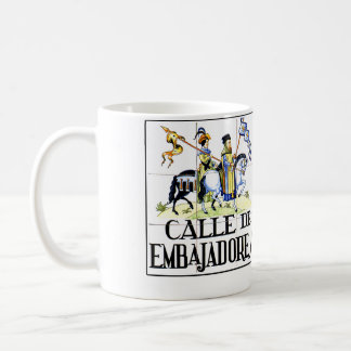 Calle de Embajadores, Madrid Street Sign Coffee Mug