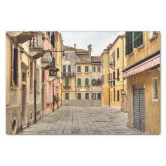 Calle Del Montello, Venice Italy Tissue Paper