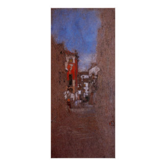 Calle San Trovaso, Venic by Whistler Posters