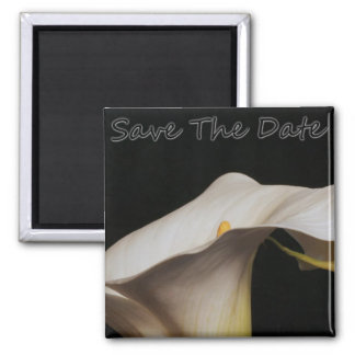 Calli Lillie Save The Date Magnet