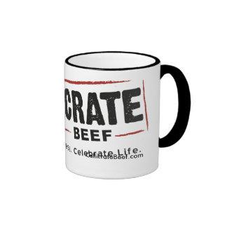 Callicrate Beef Logo Only Ringer Mug