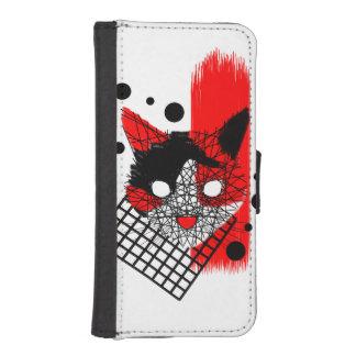 Callie Polka iPhone SE/5/5s Wallet Case