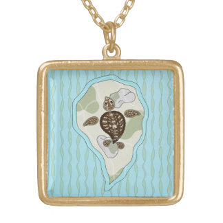 Callie the Sea Turtle Necklace