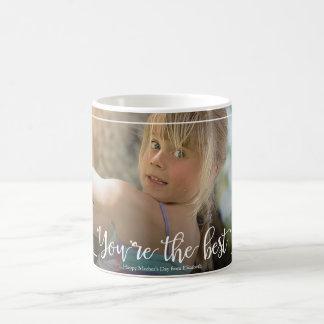 Calligraphic Mother's Day Custom Photo Mug