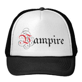 Calligraphic  Vampire Mesh Hats
