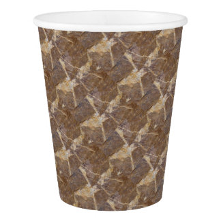 calligraphs on stone paper cup