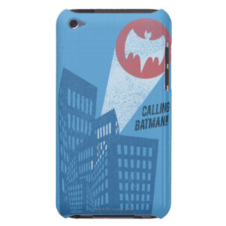 Calling Batman Bat Symbol Graphic iPod Case-Mate Case