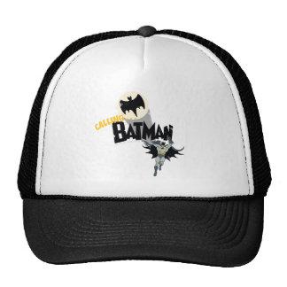 Calling Batman Graphic Cap