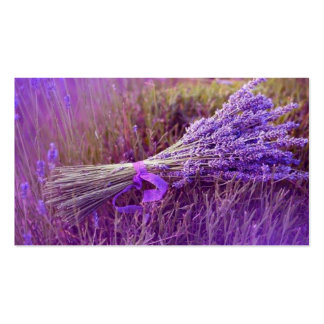 Calling cards bouquet of lavenders pack of standard business cards