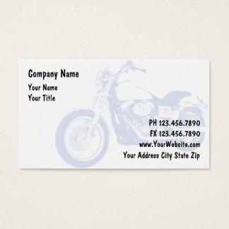 Calling cards of motor bike