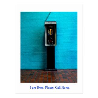Calling Home Postcard
