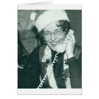 calling ms santa card