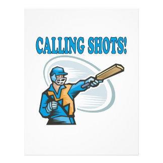Calling Shots 21.5 Cm X 28 Cm Flyer